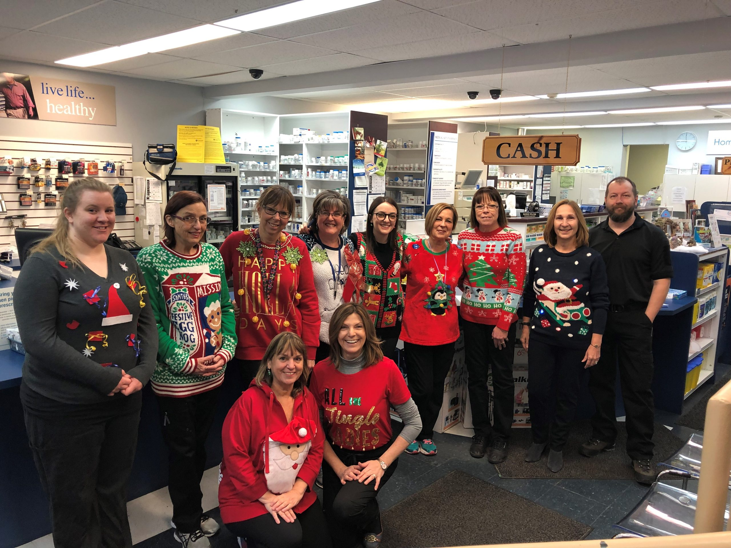 Ugly Sweater Day 2018