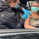 Day 1 Flu Clinic pics Oct 20/2020